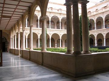 Claustro de la UMU de la Facultad de Derecho.