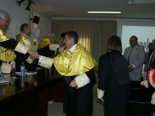 Felicitación Tribunal de la Tesis Doctoral de Pilar Andújar.