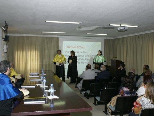 Disertación final (2) de los directores en la Tesis de Pilar Andújar.